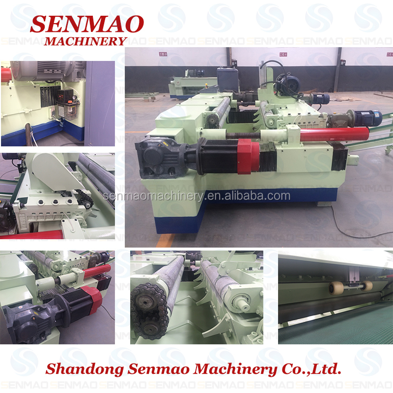 Malaysia Non-center Peeling Lathe/timber Pile Veneer Peeling Machine ...