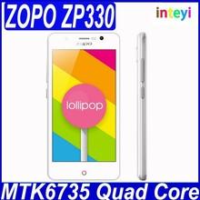 "Original ZOPO ZP330 Color C MTK6735 Quad Core 4G LTE Mobile Phone 4.5"" 854x480 1GB RAM 8GB ROM Android 5.1 Lollipop 5MP Camera"