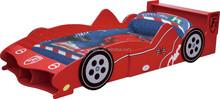 Toddler Bedroom wood F1 Racing Car Bed