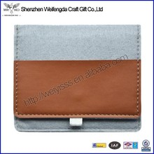 2015 handmade high quality felt material 13 inch tablet pc case