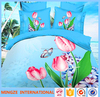 Alibaba China supplier home textile king queen double single size 100% cotton bed sheet set 3d comforter sets