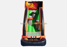 inflattable soccer challenge inflatable basketball target for sales