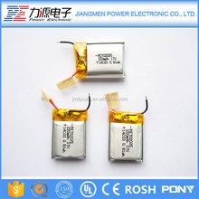 Chinese promotional items li ion battery 3.7v 220mah