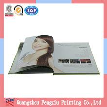 2014 Beautiful Hardcover Autograph Books Printing In Guangzhou