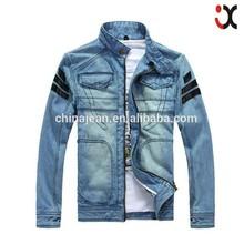 2015 hot motorcycle jacket leather jacket for man adult denim jacket (JXW803