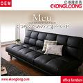 muebles sofá de cuero barato, un sofá cama plegable