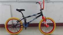 hot sale snakeskin tire high quality 20inch wheel BMX bicycle freestyle bike OEM BY-04