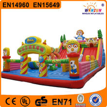 HOT!! commercial giant inflatable bounce house water slide with CE certificate