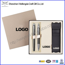 Fancy Promotion Pen Gift Set With Gift Box And Pen Pouch