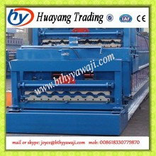 High speed roof color steel glazed roof tile roll forming machine price