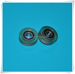 685zz type casting polyurethane bearing for banknote counter, clear extension
