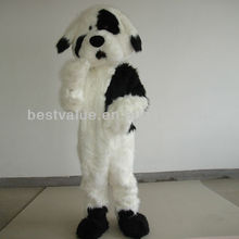 LOVELY Long-haired Beijing Pakistan dog COSTUME MASCOT CARTOON CLOTHES