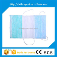 Hot China Products Wholesale disposable dental surgical face mask tie-on with design