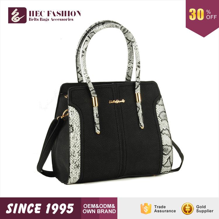 HEC Wenzhou Beste Verkauf Individuell Bedruckte Leinwand Damen Designer Tragetaschen Frauen MK Handtaschen