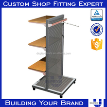 wholesale pegboard hooks hair accessories stand hair bow display rack
