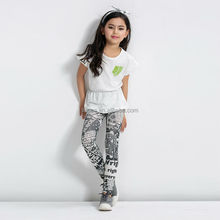 Fashion style kids pantyhose with printed wholesale for girls brand hosiery manufacturer