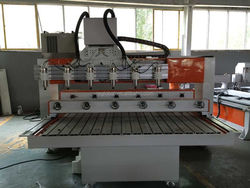 2/4/6/8/10/12 heads rotary axis cnc router for furniture legs, railing tanga, head bed,statue carving sculpture