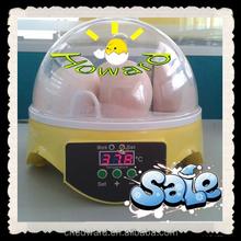 2015 Big Sale CE Passed Full Automatic Mini 7 Eggs incubator For Family Use For Sale