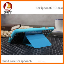 High-grade PU leather mobile cell phone case for iphone 6