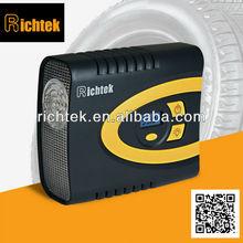Manufacturer of intelligen mini portable tire inflator,wholesale portable tire inflator with digital gauge(RCP-C62A)