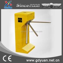 RFID Card Access Control Compact Tripod Turnstile For Fitness Center