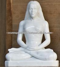 estatua de mármol de babaji mahavtar de kriya yoga