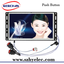 7 Inch Hot Video Player/digital advertising tv with motion sensor