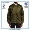2016 new products wholesale bomber mens custom nylon varsity jackets