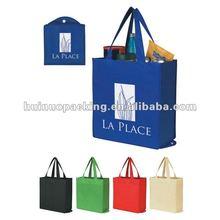 Sale foldable non woven shopping bag/various color