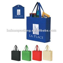 Sale foldable non woven shopping bag/various color