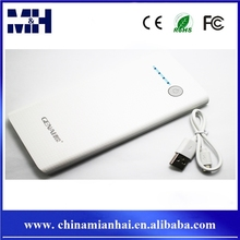 New fashion 15000MAH white color wireless power bank charger