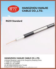 ul/iso/rohs/reach electronic communication cable manufacturer cctv/catv/satellite/antenna oem/odm rg6 rg59 coaxial cable