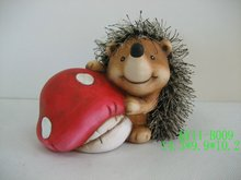 Hedgehog decoration for 2012 QY11-B009