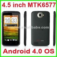 ONE X MTK6577 Dual Core Android 4.0 Smart Phone 3G+GPS+Bluetooth+TV+FM+WiFi