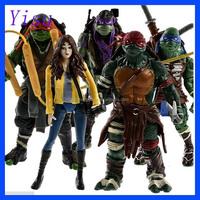 TMNT Teenage Mutant Ninja Turtles APRIL O'NEIL Action Figure Collection
