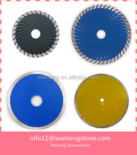 diamond tools of Granite turbo segment Blade reduce the contact area with the stone makes cutting easier