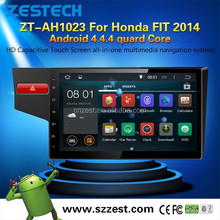 In dash Android 4.4 car dvd player with gps for Honda FIT 2014