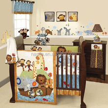 Jungle Baby crib bedding sets/baby crib bedding set/baby cot bedding set