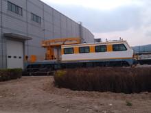 Caténaire travail wagon, Railway travail locomotive ; costumerized locomotive