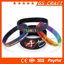 On line superior in quality new products mens rubber bracelet