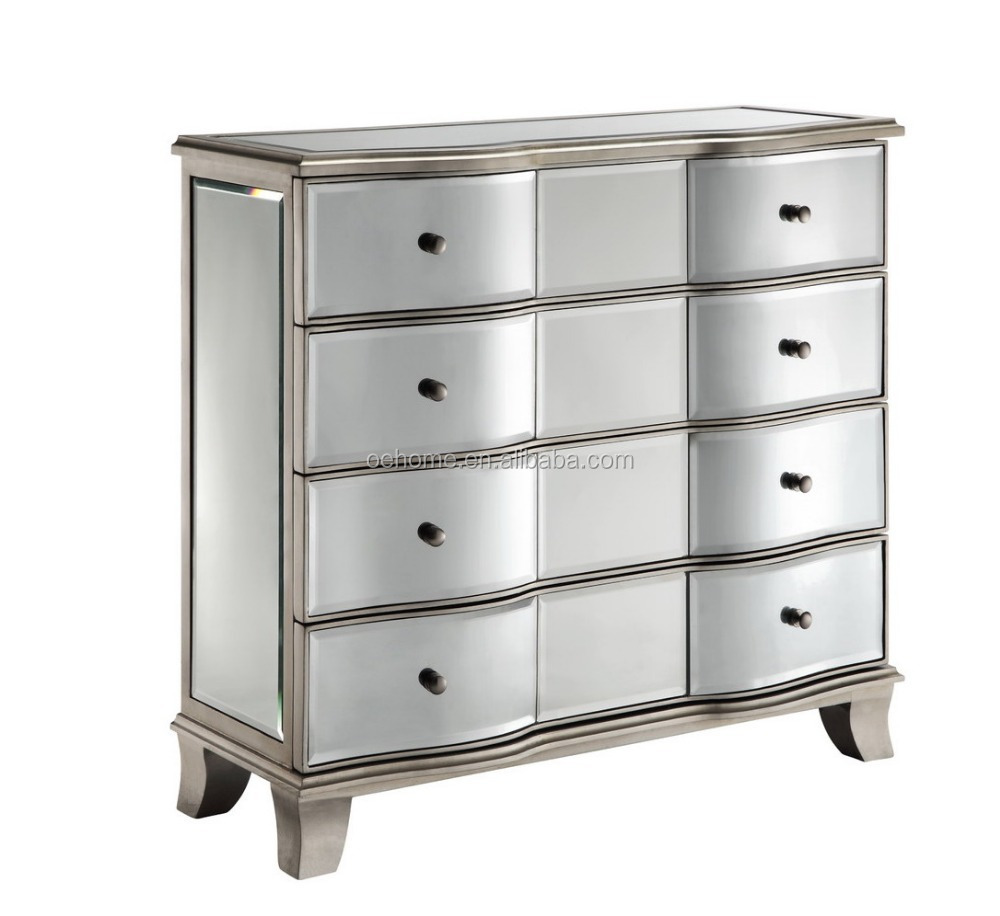 beautiful accent chest for bedroom mirrored furniture