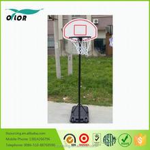 Steel post PP basketball board adjustable basketball stands