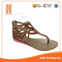 Girls fancy dress shoes lady sandal fancy shoes