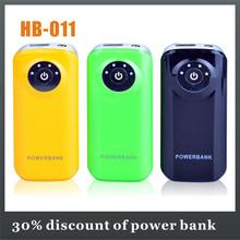 mass production 5200mah battery power bank