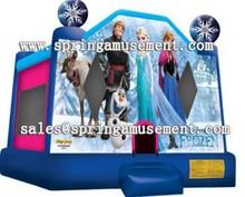 Inflatable frozen bouncy castle for sale SP-PP025