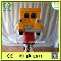 HI CE funny car mascot costume for sale,new popular carton mascot costume,car mascot costume