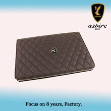2013 NEW Leather Cover Back Case for iPad Air with 2 Card Slot