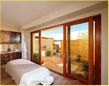 promotion China guangzhou factory price aluminum sliding glass door, heavy duty sliding door