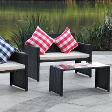 Reliable Steel Frame Synthetic Rattan Furniture Cheap,Rattan Furniture Philippines