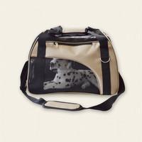 Wholesale medium foldable shoulder pet bag with breathable mesh